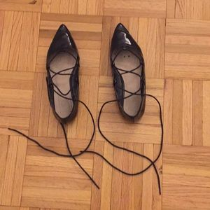 ASOS Lace-Up Ballet Flats